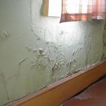 In this image you can see the extent of Rising Damp and the Damage it can cause your property if this is not rectified