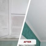 Before and after ceiling